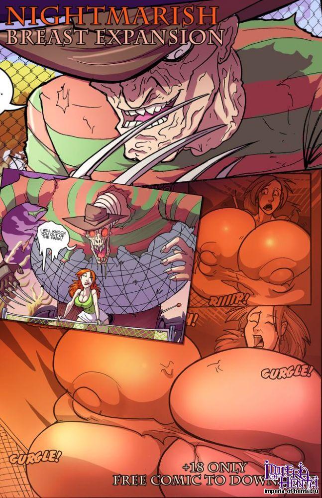 Порно комиксы на улице
