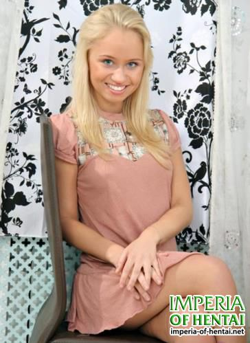 Anuschka - Glamorous Teen Blonde Anuschka Enjoys Fat Cock (2011/MyTeenVideo.com/HD)