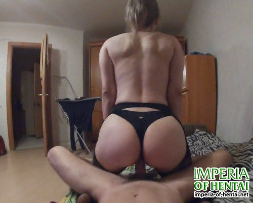 Arina and her boyfriend in a rented apartment